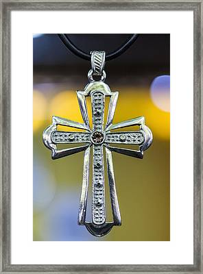 Symbol Of Faith Framed Print