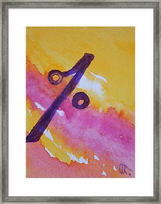 Symbol Of The Year 2012 Framed Print by Warren Thompson