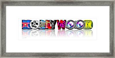 Symbollywood Framed Print