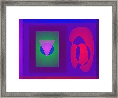 Symbols Framed Print by Masaaki Kimura