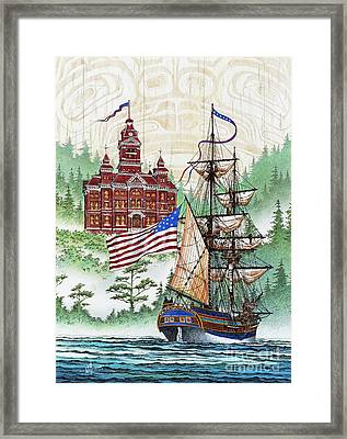 Symbols Of Our Heritage Framed Print by James Williamson