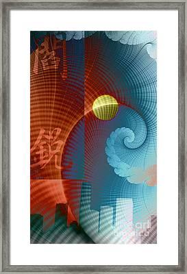 Symbols Vertical Framed Print