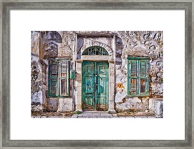 Symi Framed Print by Delphimages Photo Creations
