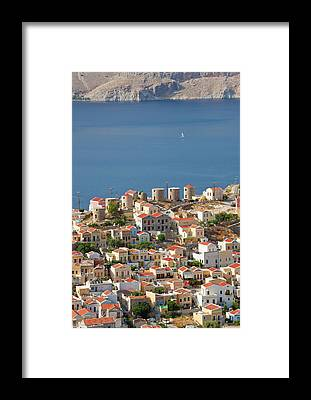Symi Framed Prints