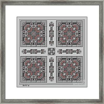 Symmetrica 313 Framed Print by Nedunseralathan R