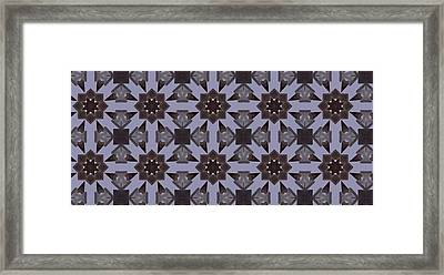 Symmetrical Precision Framed Print by Ricky Jarnagin