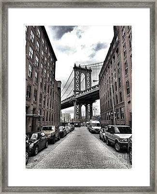 Symmetrical View Of Street With Parked Framed Print by Giampaolo Majonchi / Eyeem