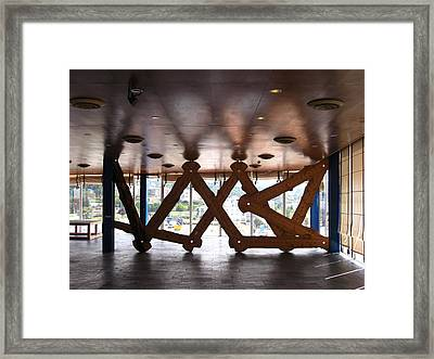Symmetries Framed Print by Jose luis Mendes
