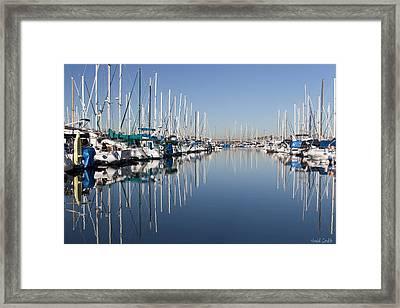 Symmetry Framed Print by Heidi Smith