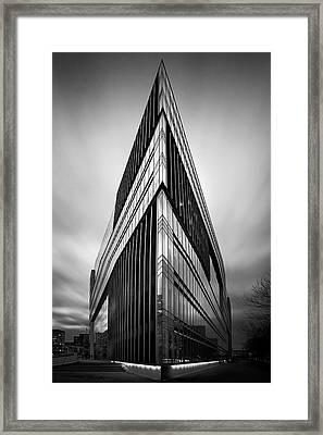 Symmetry Framed Print by Marc Huebner