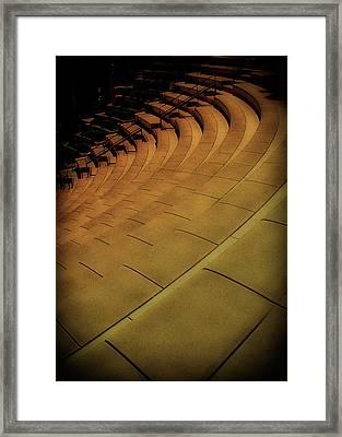 Symmetry Seating Framed Print