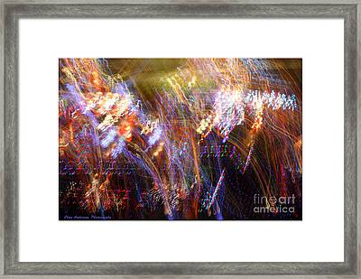 Symphonic Light Abstraction  Framed Print by Chris Anderson