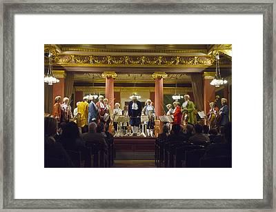 Symphony Concert Framed Print by Jon Berghoff