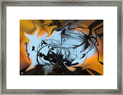 Symphony In Silhouette  Framed Print by Wayne King