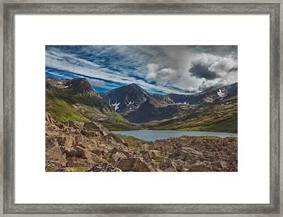 Symphony Lake Framed Print