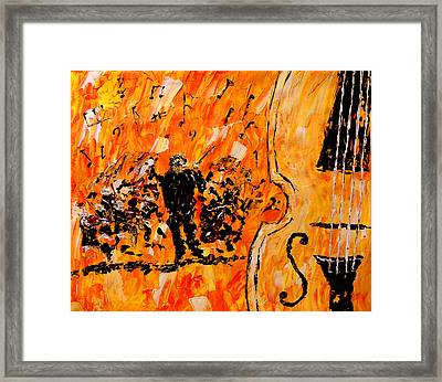 Symphony Framed Print by Mark Moore