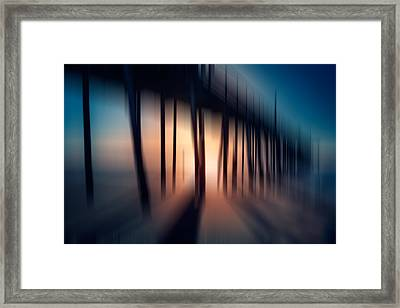 Symphony Of Shadow - A Tranquil Moments Landscape Framed Print by Dan Carmichael