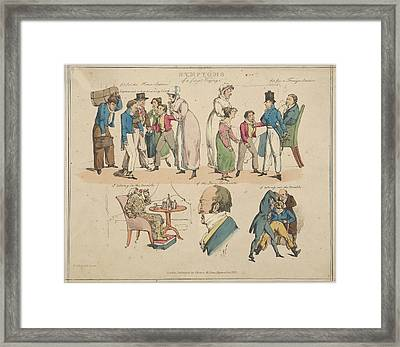 Symptoms Of A First Voyage Framed Print