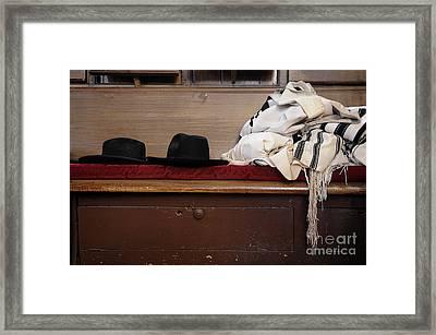 Synagogue 5 Framed Print by Bob Stone
