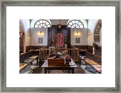 Synagogue In Chania Crete Greece Framed Print by Frank Bach