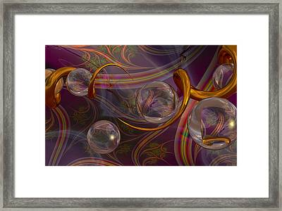 Synapse Framed Print by Roger Pearce