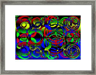 Synchronicity 1 Framed Print