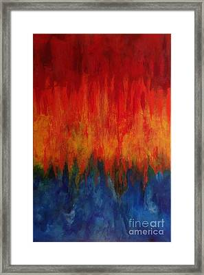 Synchronicity Happens Framed Print by Bebe Brookman