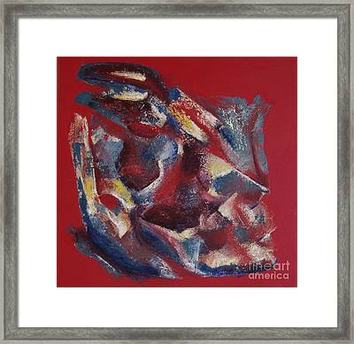 Framed Print featuring the painting Syncopation by Mini Arora