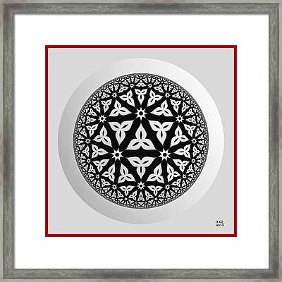 Syncretism Framed Print by Manny Lorenzo