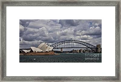 Syndey Famous Framed Print