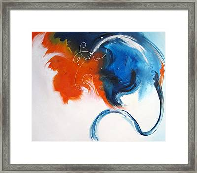 Synergy Framed Print by Mary Kay Holladay