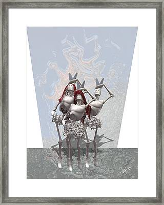 Synthetic Conservative Spanish Framed Print