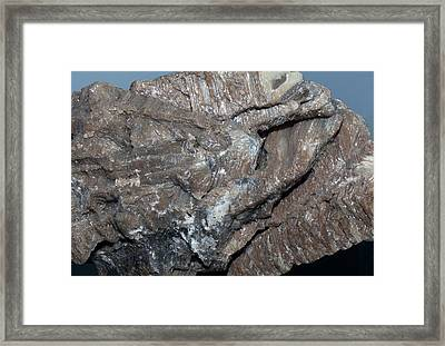 Synthetic Spinel Framed Print