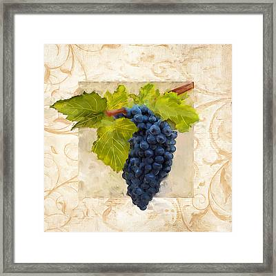 Syrah II Framed Print by Lourry Legarde