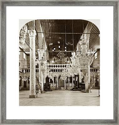 Syria Church, C1903 Framed Print