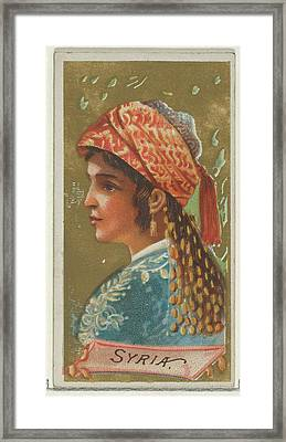 Syria, From The Types Of All Nations Framed Print