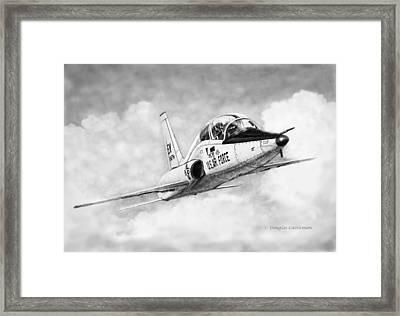 T-38 Talon Framed Print
