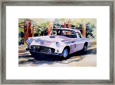 T Bird Framed Print