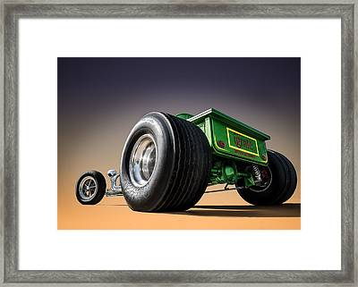 T Bucket Framed Print
