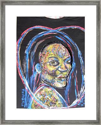 T - Shirt Series - Happy Thirteenth Birthday Chrissy Framed Print