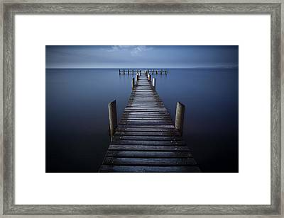 T Stands For Timeless Framed Print