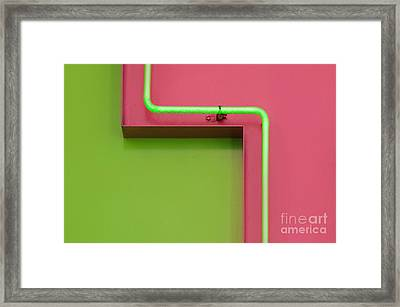T Zone Framed Print by Dan Holm