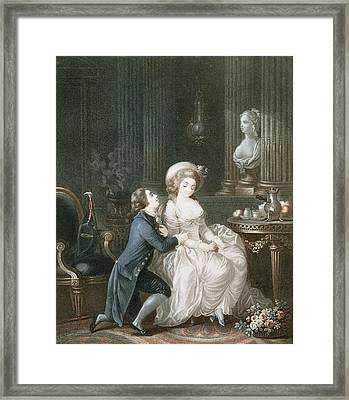 T.2342 Lamant Ecoute, 1775 Framed Print
