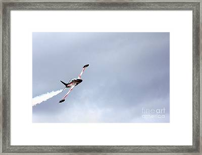 T33 Shooting Star Framed Print by Ules Barnwell