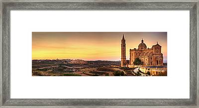 Ta Pinu And Gharb Framed Print by Ian Good