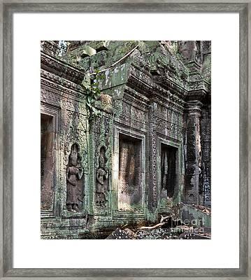 Ta Prohm Temple 03 Framed Print