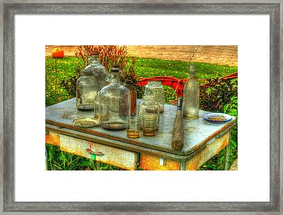 Table Collections Framed Print
