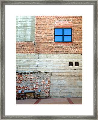 Framed Print featuring the photograph Table For Two by Paul Foutz