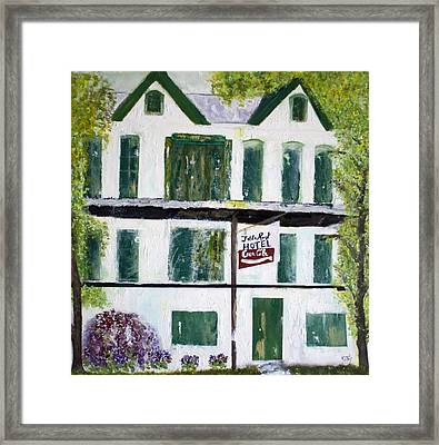 Table Rock Hotel Framed Print