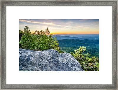 Table Rock Predawn Framed Print